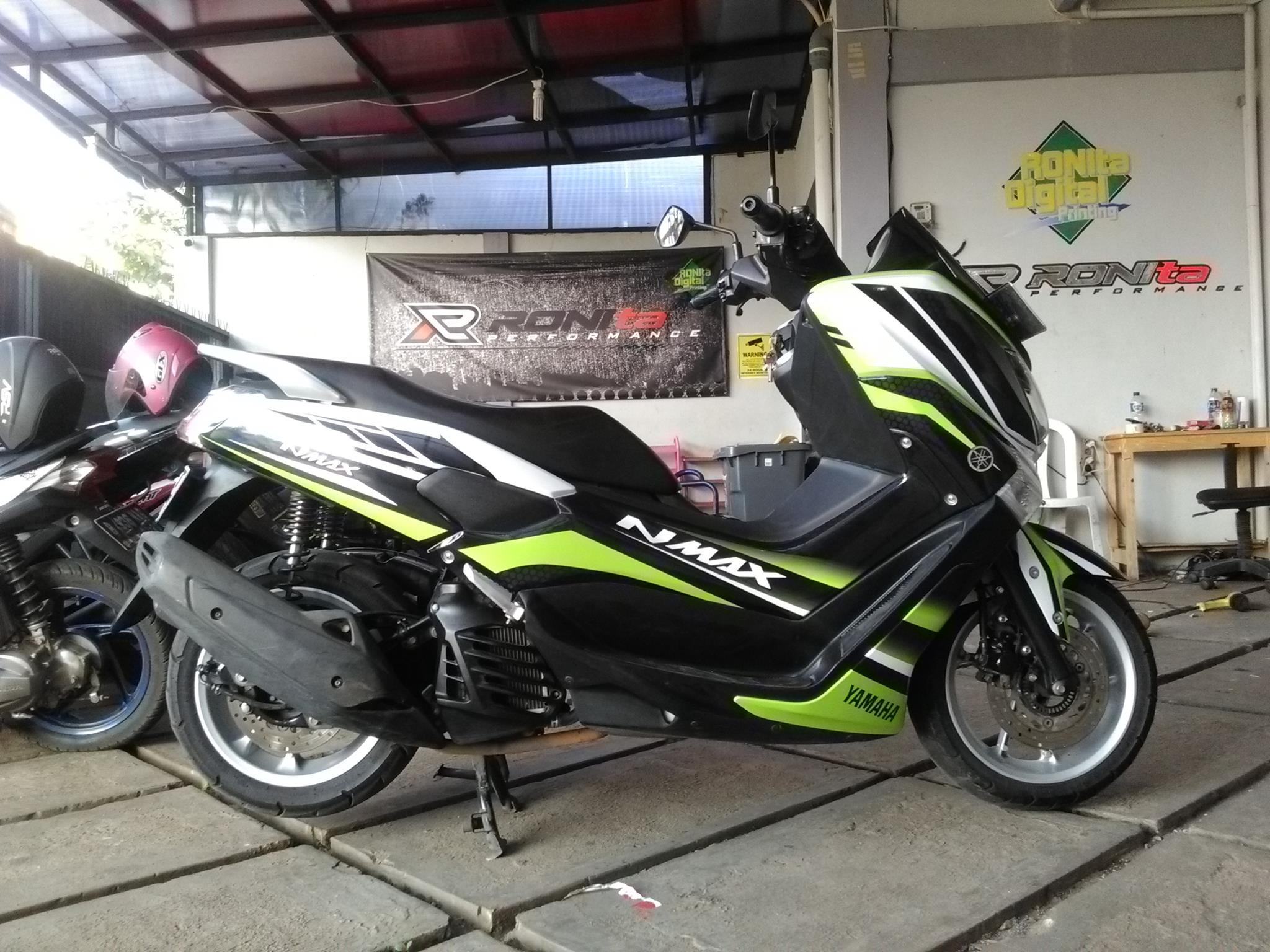 Decal new pcx 2018