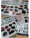 Stiker Resin Chrome