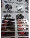 Cetak Stiker Resin Chrome