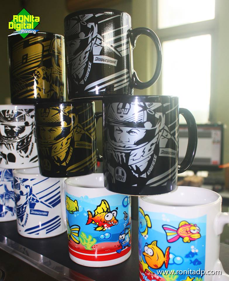 sablon mug menggunakan water decal digital