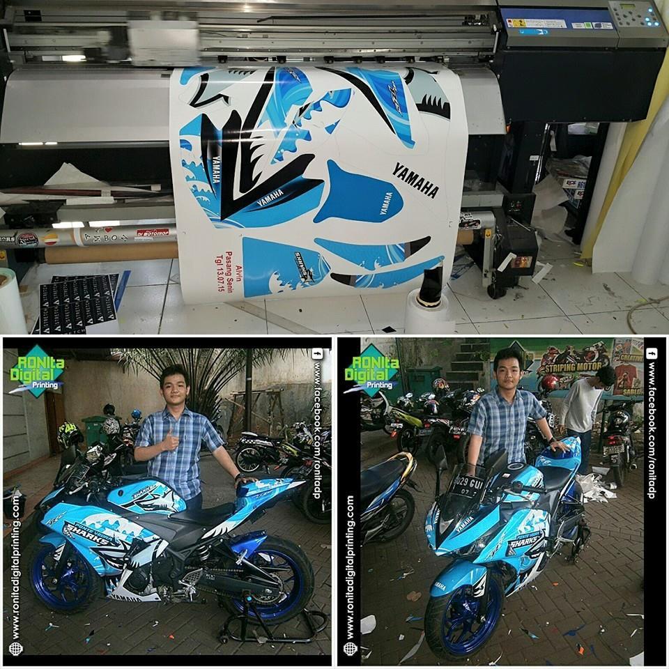 Contoh aplikasi sticker vinyl polimeric aplikasi sticker vinyl polimeric untuk motor